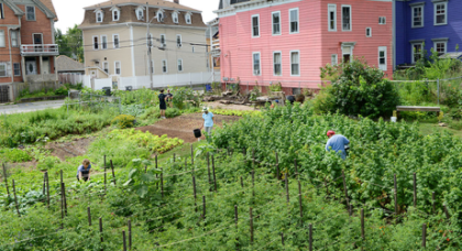 Community Land Trust in Providence, Estados Unidos. Foto Kendall Foundation[